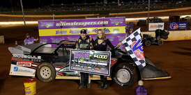 CIV Grabs 1st Career Dirt Super Late Model Win