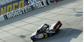 Coulter Finishes 5th at the Monster Mile